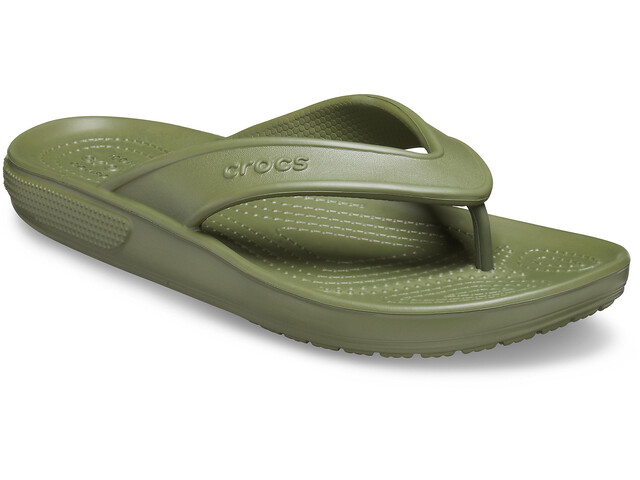 Crocs Classic II Sandalias de Piel, army green